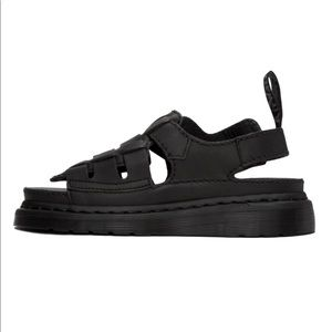 NIB Dr. Marten Temperley Leather Sandals Sz.9 UK 7 EU 41